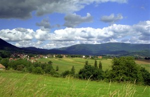 vue sur vallée